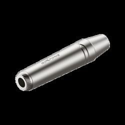6.3mm stereo Jack, Nickel plated shell, Roxtone RJ3FPP-NN