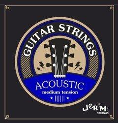 Struny do gitary akustycznej Jeremi 1048 ECO