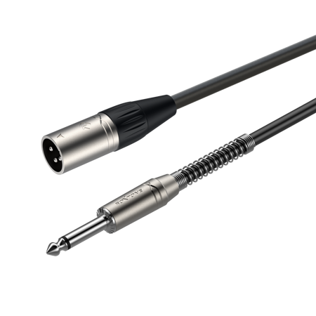XLR 3-pole male - 6.3mm mono Jack plug SAMURAI SMXJ250L3