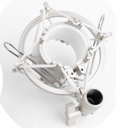 Koszyk mikrofonu pojemnościowego DSM44 srebrny